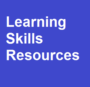Learning Skills Resources
